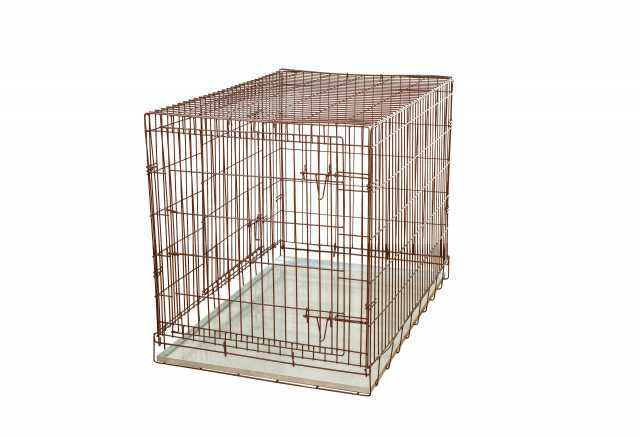 Продам: Клетка №6 складная металлическая