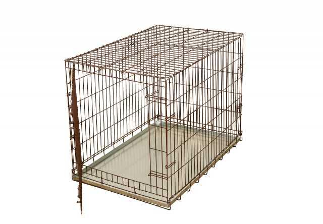 Продам: Клетка №4 складная металлическая