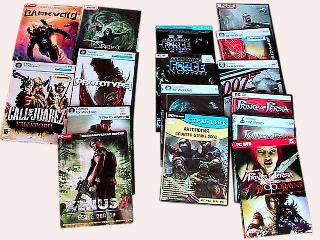 Продам игры компьютерные новые коллекционные