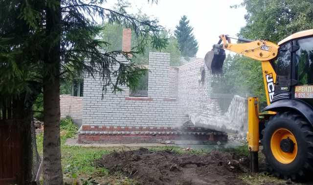 Предложение: Снос старого дома в истре