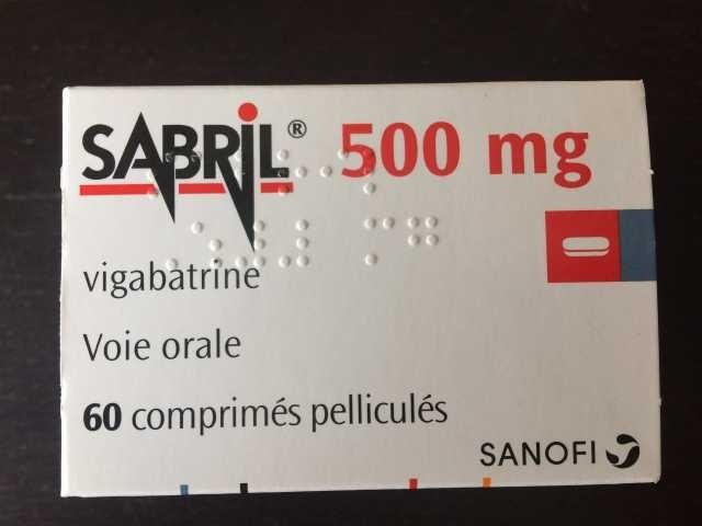 Продам французский сабрил 500 мг №60