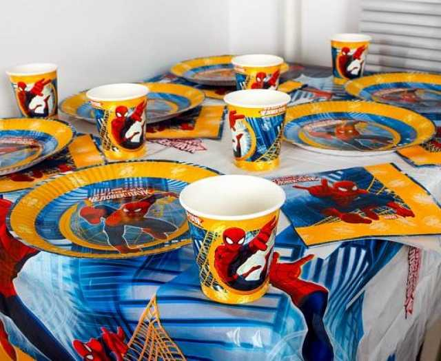 Продам Праздничная посуда Человек-Паук