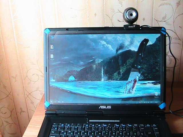 Продам web камера для ноутбука или LCD монитора