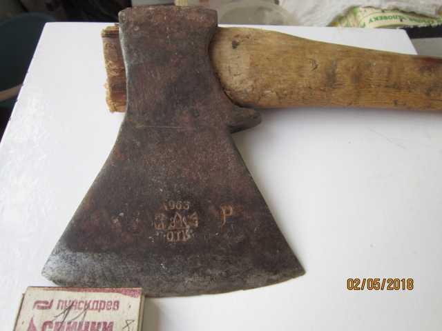 Продам топор Златоустовский завод 1963 год.