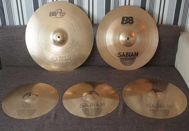Продам Комплект тарелок Sabian B8 Pro