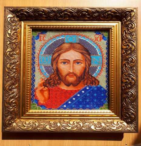 """Продам Икона """"Христос Спаситель"""", в"""