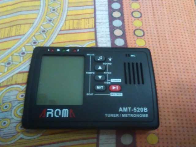 Продам Тюнер/метроном Aroma AMT-520B