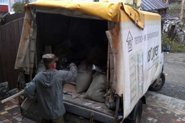 Предложение: Вывоз мусора, вывоз строительного мусора