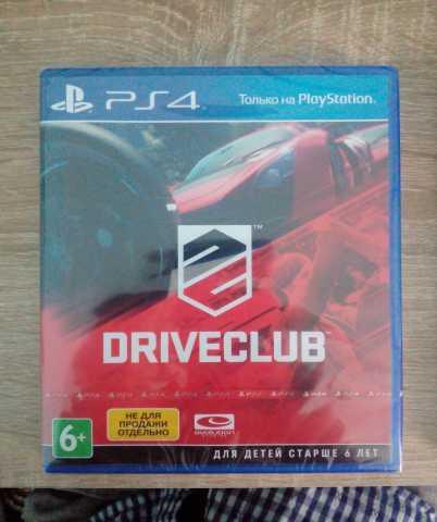 Продам Drive Club на PS4