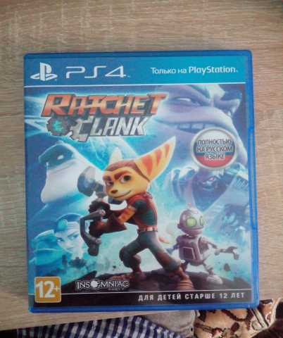 Продам PS4 Ratchet&Clank