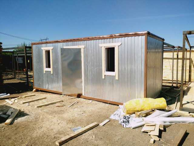 Предложение: Блок контейнер с зимним утеплением