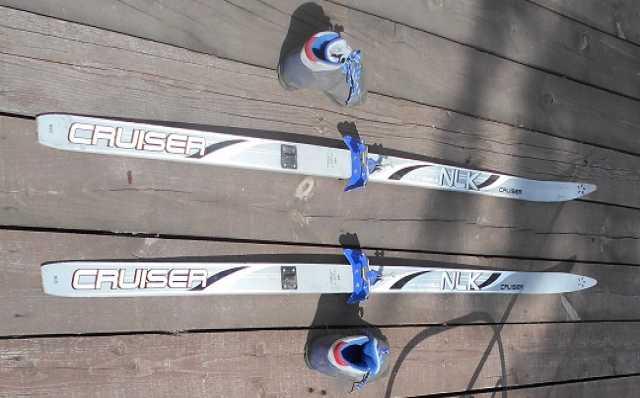 Продам Лыжи с ботинками Cruiser 165