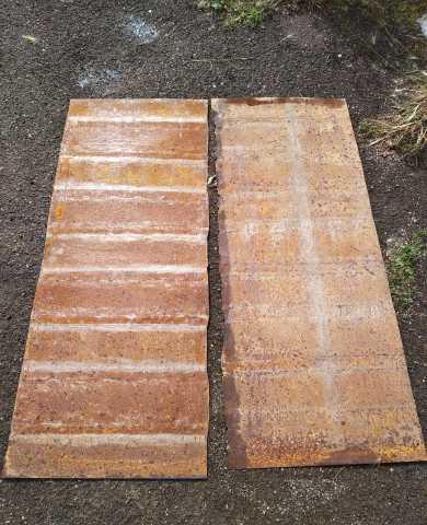 Продам Листы металла 2шт, 2мм, 1,44х0,55м