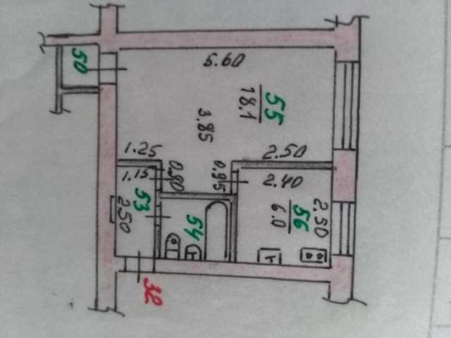 Продам 1-к квартира, 31 м2, 4/4 эт.