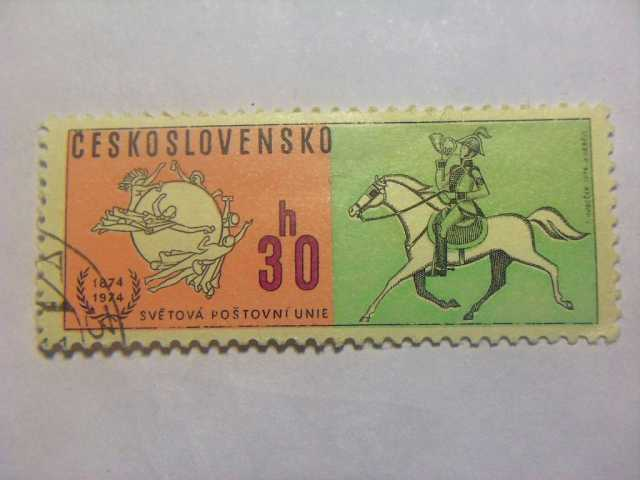 Продам Марка 30h Чехословакия 1974 год