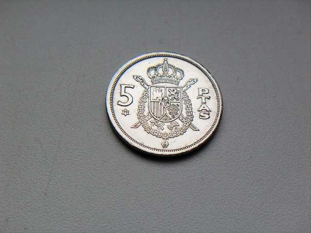 Продам 5 Песет 1975 год Испания