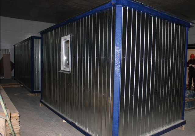 Продам Блок контейнер (Бытовка) металлическая