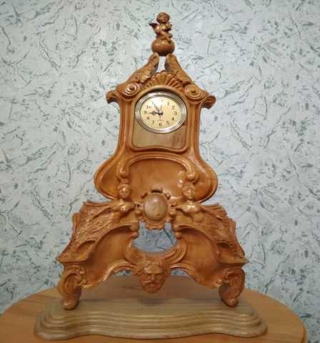 Продам Часы настольные каминные ручной работы и