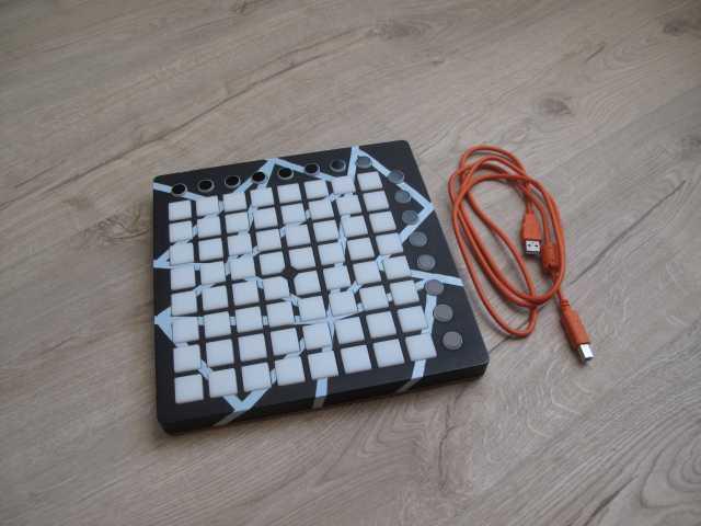 Продам Launchpad MK2 с принтом и гарантией