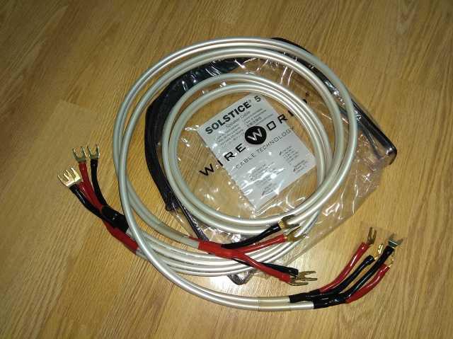 Продам кабель акустический WireWorld SOLSTICE 5