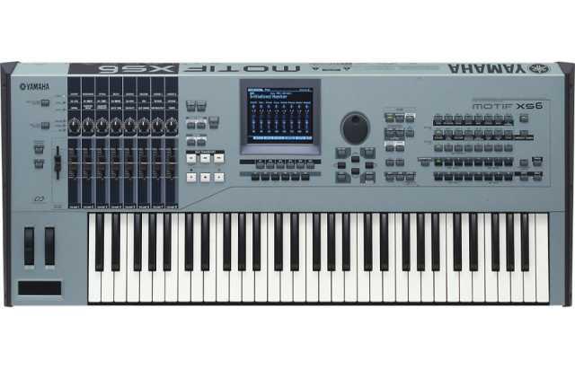 Продам Yamaha MOTIF XS6 музыка производства