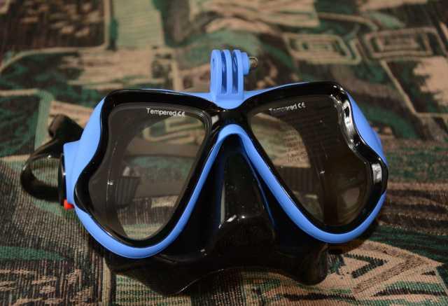 Продам: Дайвинг маска для экшен камеры