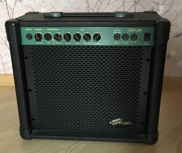 Продам Гитарный комбик stagg 20 GA