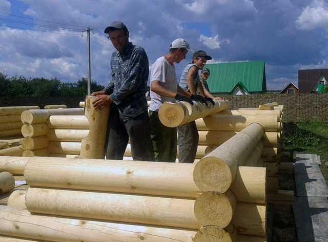 Ищу работу: Сборка срубов бань, деревянных домов