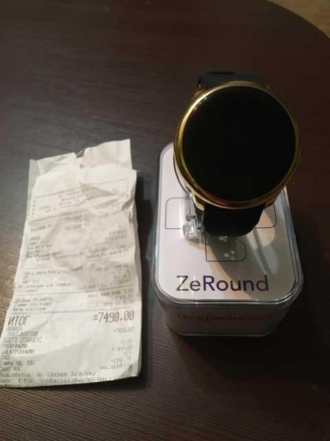 Продам Умные часы MyKronoz ZeRound