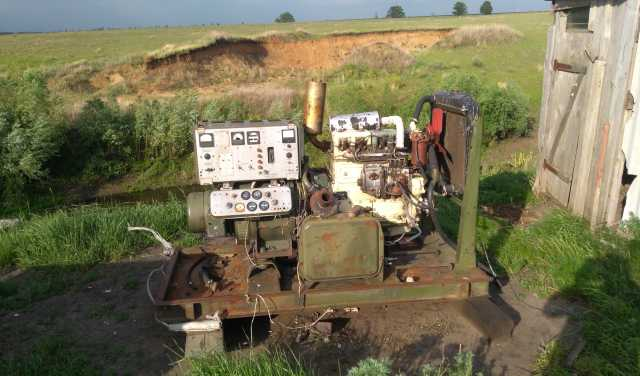 Продам Двигатель Генератор ДП30 НТ5Д4 №-903550
