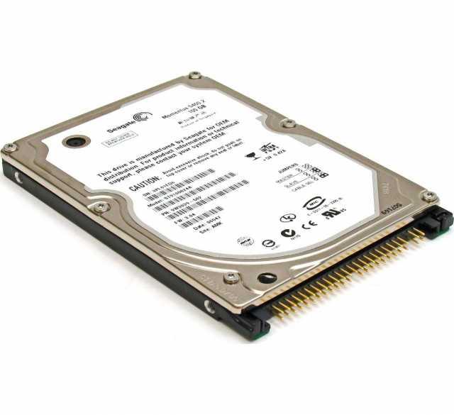 """Продам Ноутбучный 2.5"""" IDE жесткий диск 100 ГБ"""