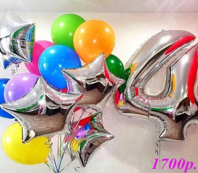 Продам Воздушные шары Серебро и Разноцвет