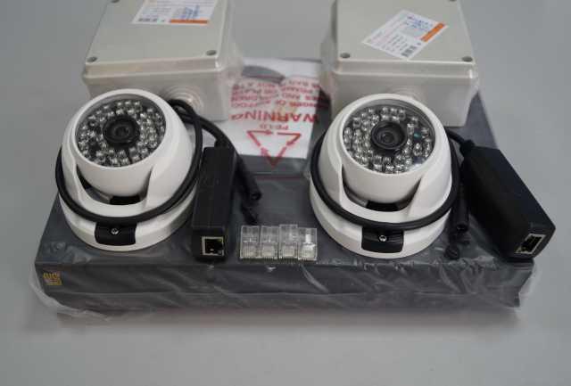 Продам Комплект IP-видеонаблюдения
