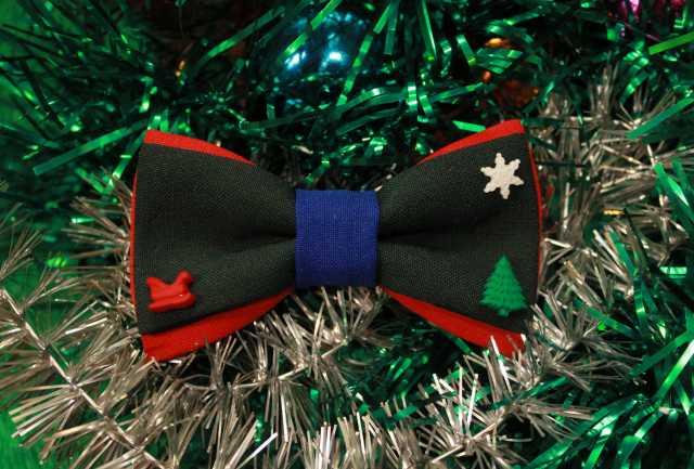 Продам Новогодний галстук-бабочка