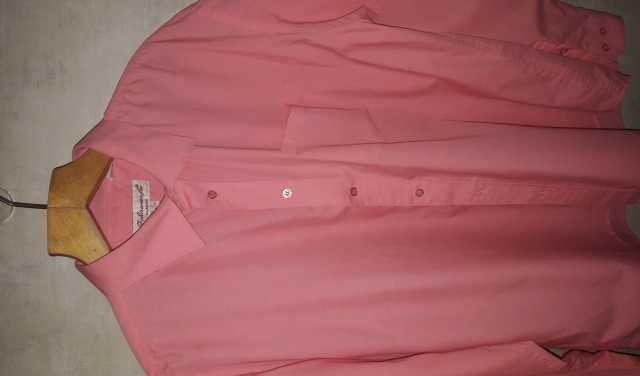 Продам Ярко-розовая мужская рубашка