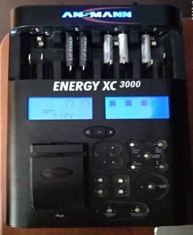 Продам Зарядное устро-во Ansmann Energy XC3000