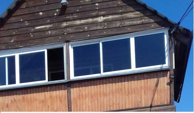 Продам Окна раскатные алюминевые