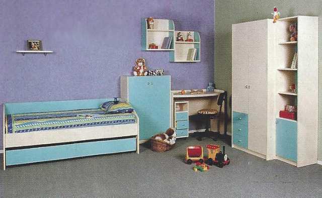 Продам: Мебель детская 9 предметов