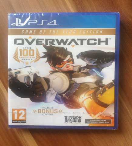 Продам: Overwatch GOTY Edition PS4 новая
