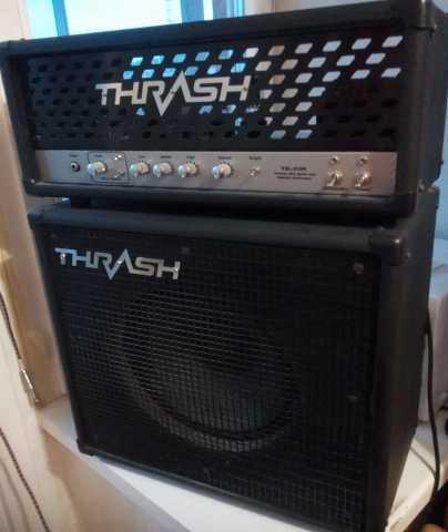 Продам ламповый гитарный стек Thresh,60вт.