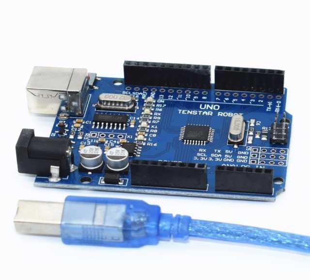 Продам Arduino UNO R3 tenstar robot + кабель