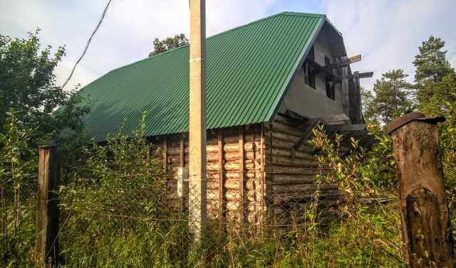 Продам: Новый дом в петле реки у соснового бора