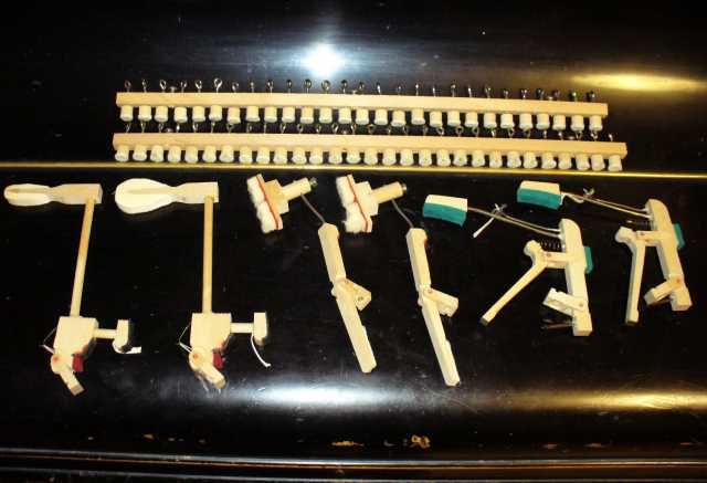 Продам продам детали от фортепьяно калужачка