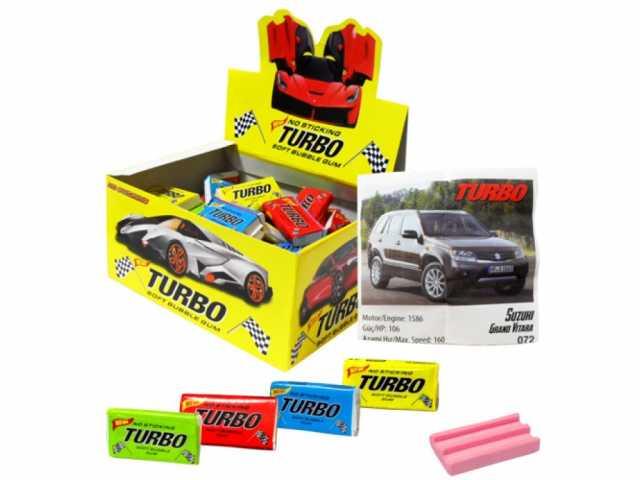 Продам Жвачка Turbo с вкладышами