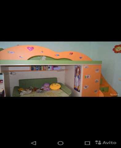 Продам Двухъярусная мебель (кровать, шкаф, лест