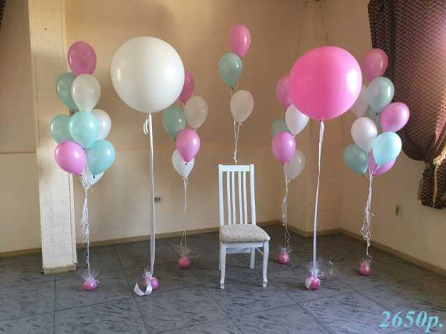 Продам Воздушные шары Бирюза и Розовый