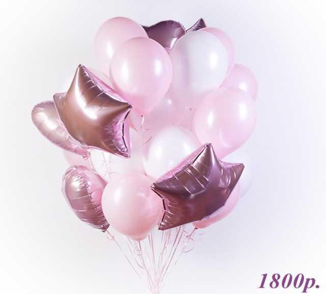 Продам Воздушные шары Сатин Звезды и Сердца