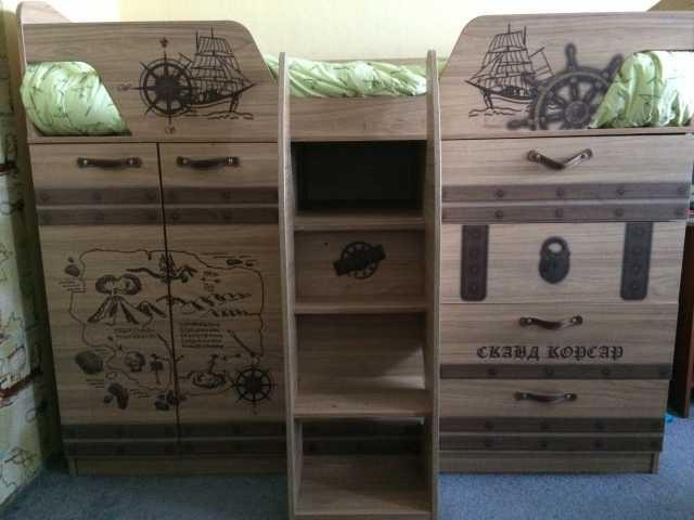Продам Мебель в детскую, кровать-чердак