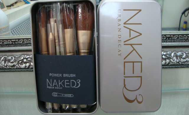 Продам Кисти Naked 3 Набор 12 штук