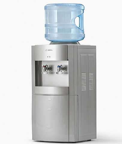 Продам Кулер для воды с холодильником серый